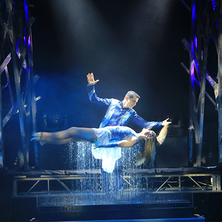 Jorgos Pampoukidis - Greek Magician, Illusionist, Entertainer, Show Producer