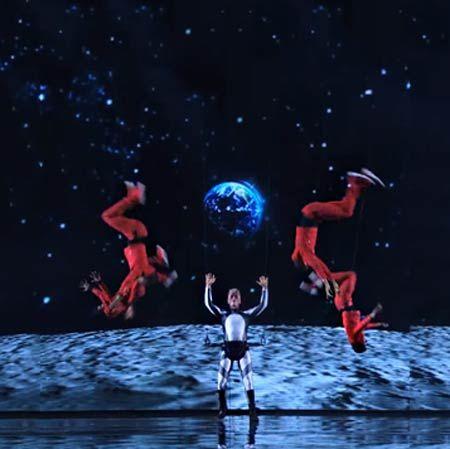 Mothmen Aerial Dance Show