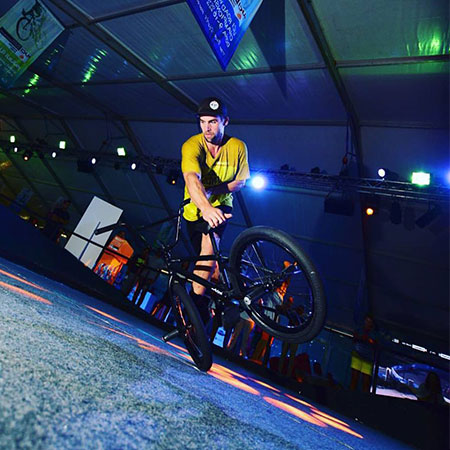 Barre Neirynck - BMX stunt rider