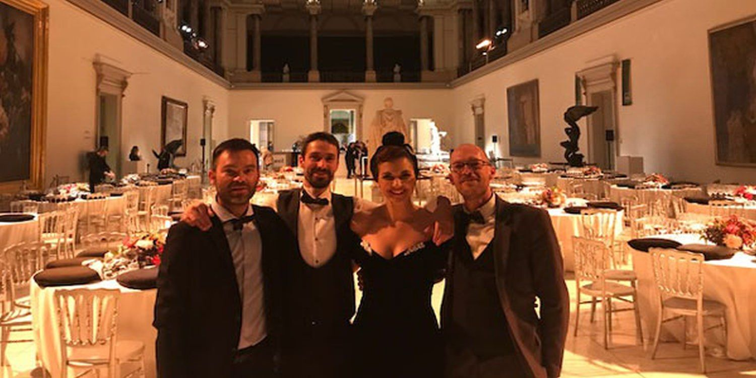 Swing Band Travel To Belgium For Corporate Gala Dinner