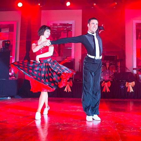 Dance spirit - Ballroom duo
