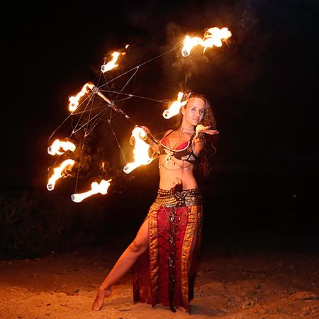 Mirjam Meine - Fire Shows