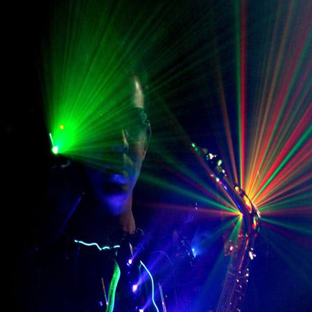 Saxophonist Emmanuel - Light Saxophone Act