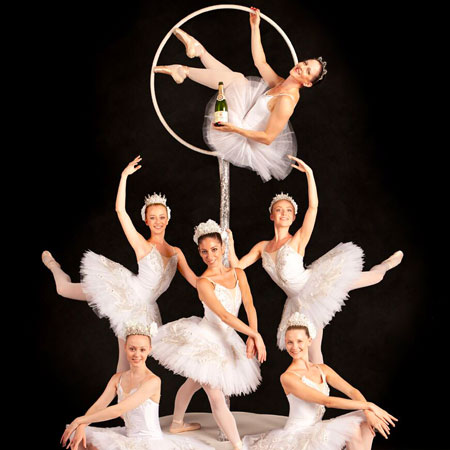 Sophie Adams - Champagne Aerialists and Ballerinas