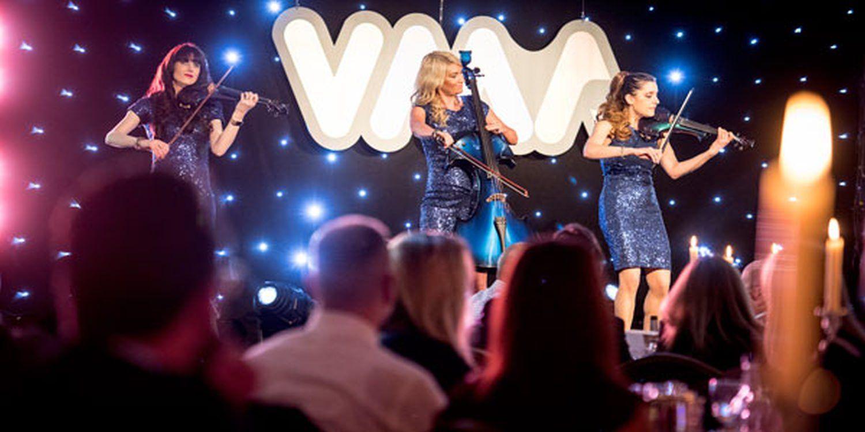 Electric Strings Trio Sparkles At VMA Awards