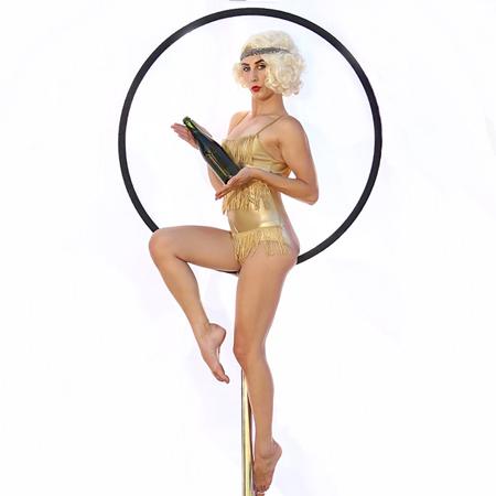Cirque Mirage - Champagne Aerialist