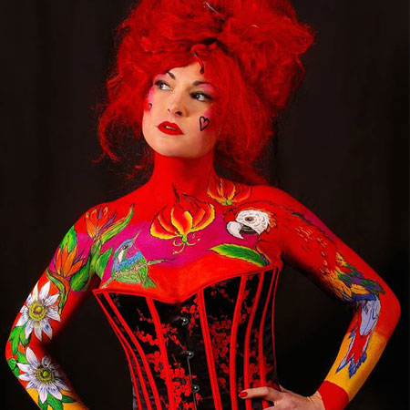 Lisa Wood - Face and Body Art