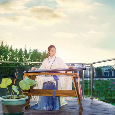 Chinese Female Guqin & Guzheng