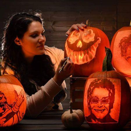 Sisi Pumpkin Carver - Virtual