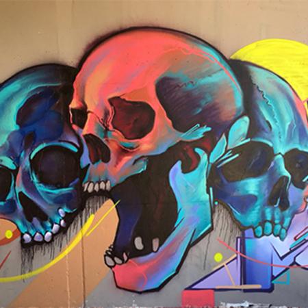 ARAM RAH - Graffiti painter Barcelona