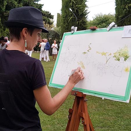 Kiara - Interactive Painting