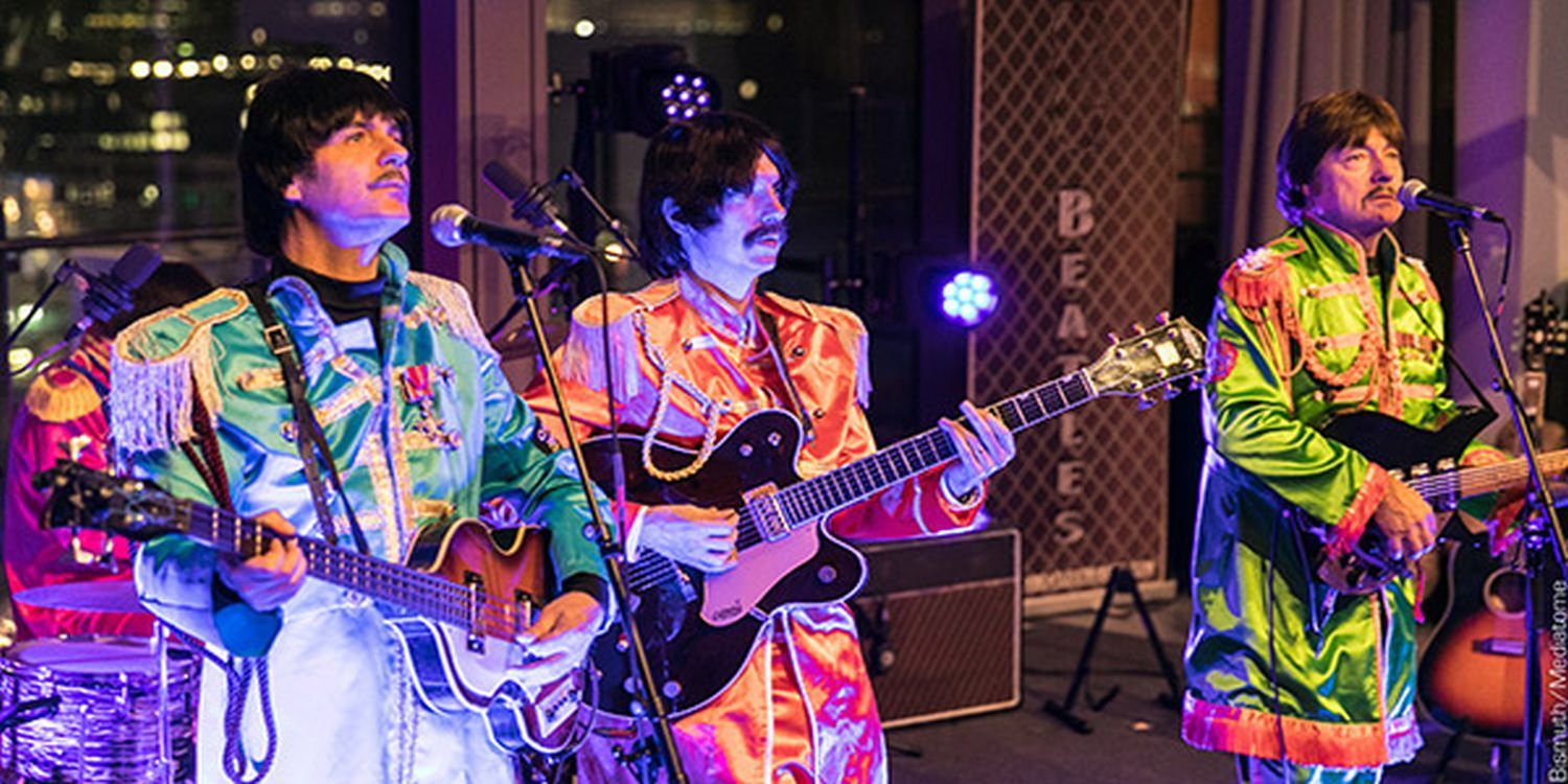 Tribute Band Bring The Beatlemania Back To A Gala Dinner In London