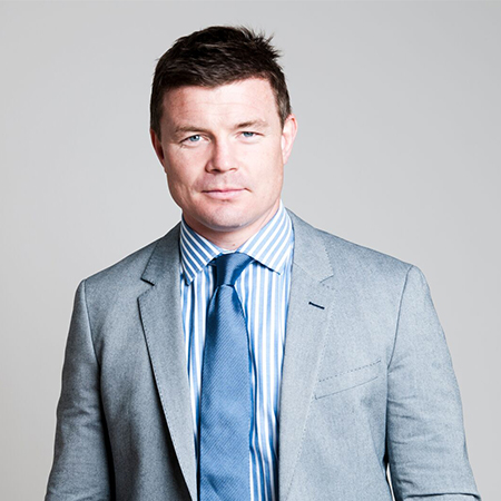 Brian O'Driscoll - Iconic Rugby Captain and Speaker