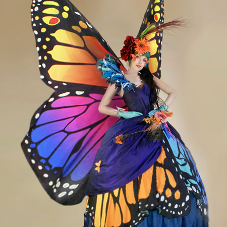 Cirque Pyromantic - Gliding Butterfly Ladies