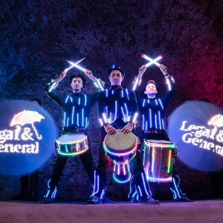Dreamtech - Flash, Bang, Wallop!, Glow Drumming