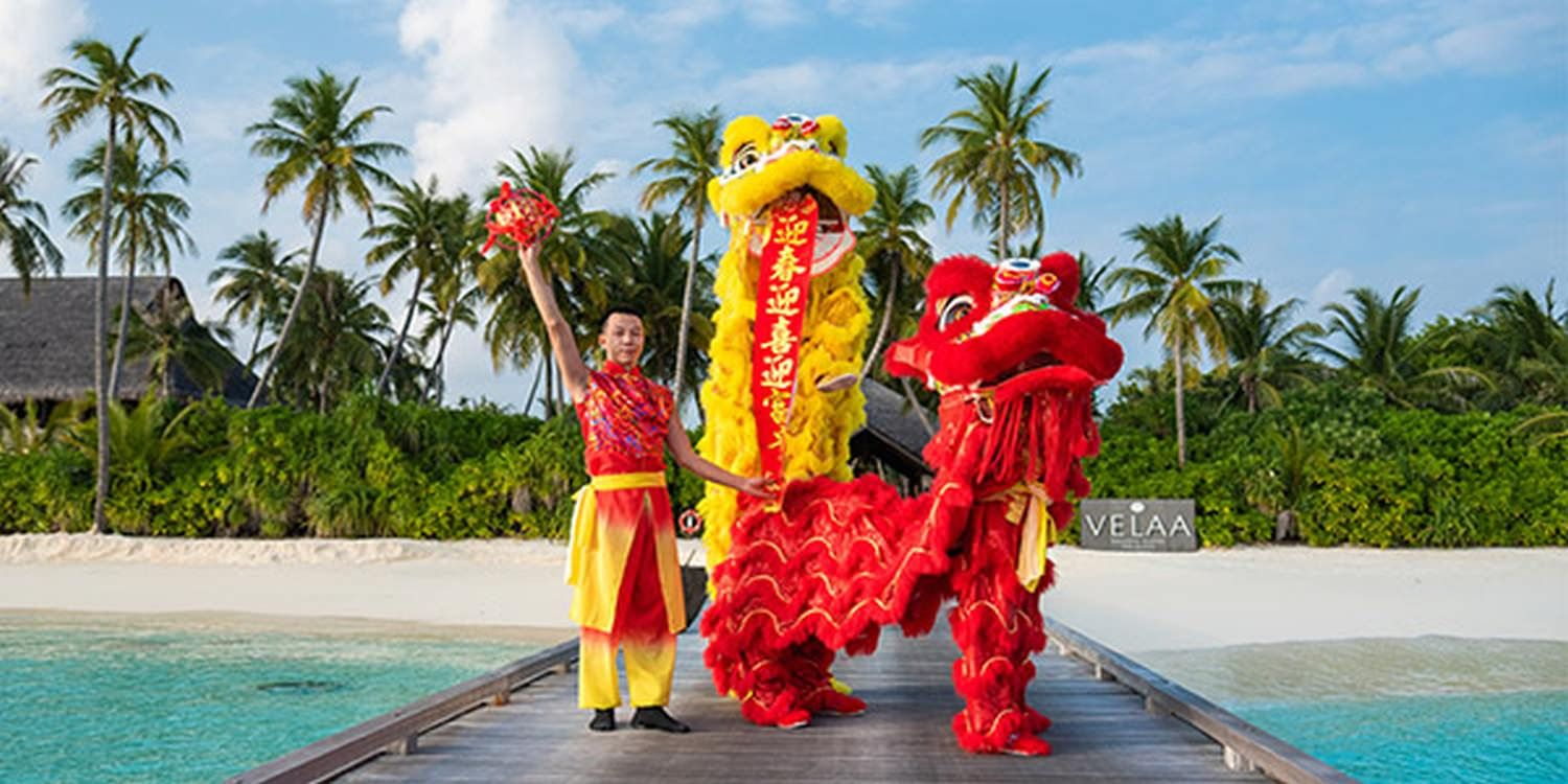 Maldives Resort Celebrate Chinese New Year With Traditional Performances