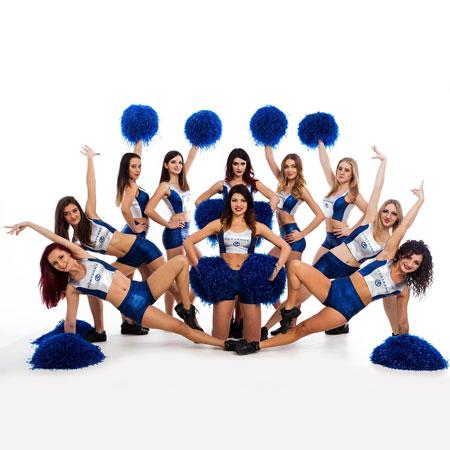Trinity Cheerleaders