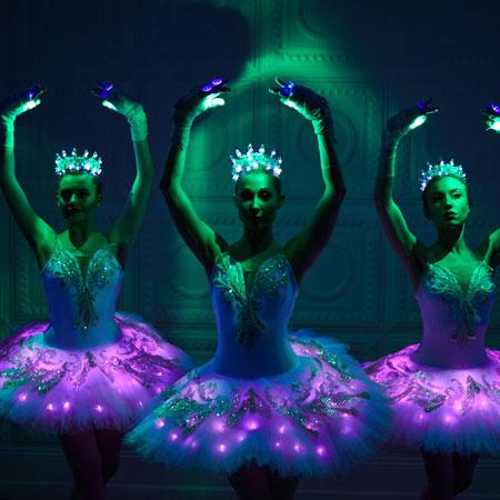 Sophie Adams Laser Ballerinas