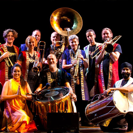 The Bollywood Brass Band