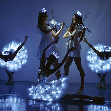 Sophie Adams LED Swan Lake
