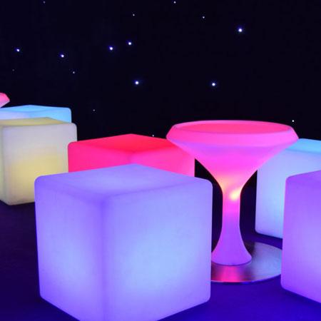 Premier Event Solutions - LED Furniture