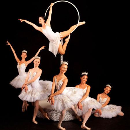 Sophie Adams - Snowflake Aerialist and Ballerina