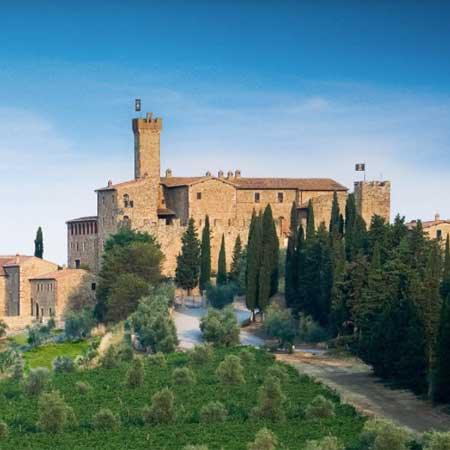 Helitaly - Top Wine Experience: Brunello at Banfi Castle, helicopter tour