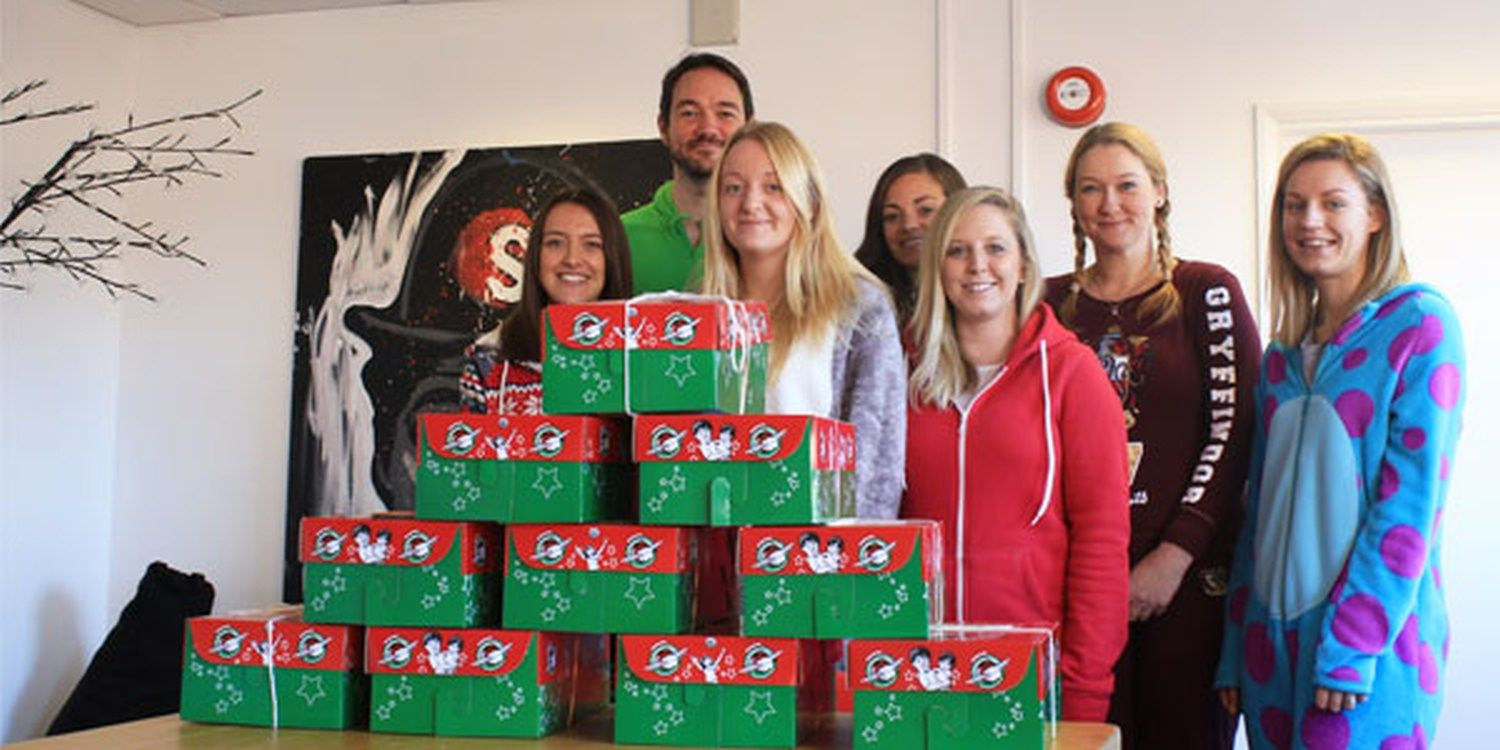 Operation Christmas Child Is Go At Scarlett Entertainment