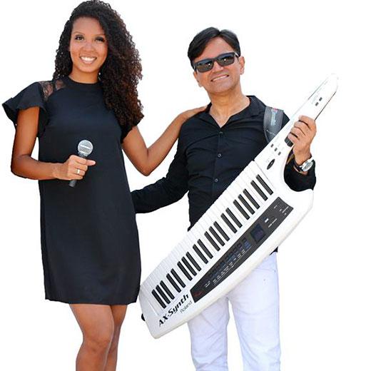 Banda Certa Duo - Maynah Faria and Xander Telles