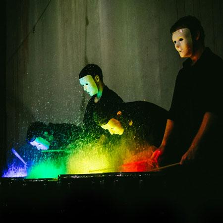 SoundStruck - Paint Drumming