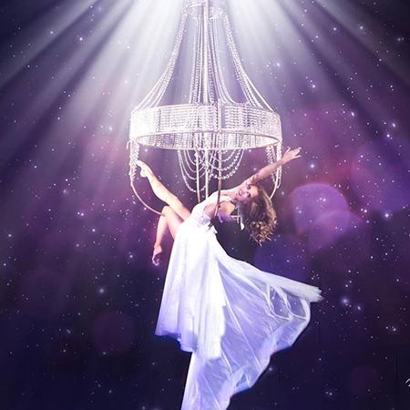 Keeva Treanor - Chandelier Aerial Dancer