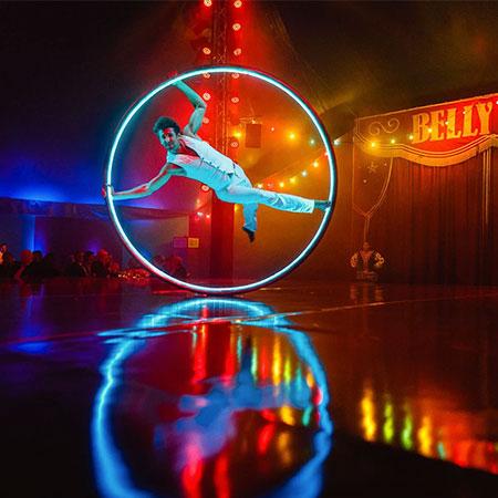Fusion Arts - Cyr Wheel show