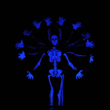 Skeleton Dance Crew - UV Dance Show