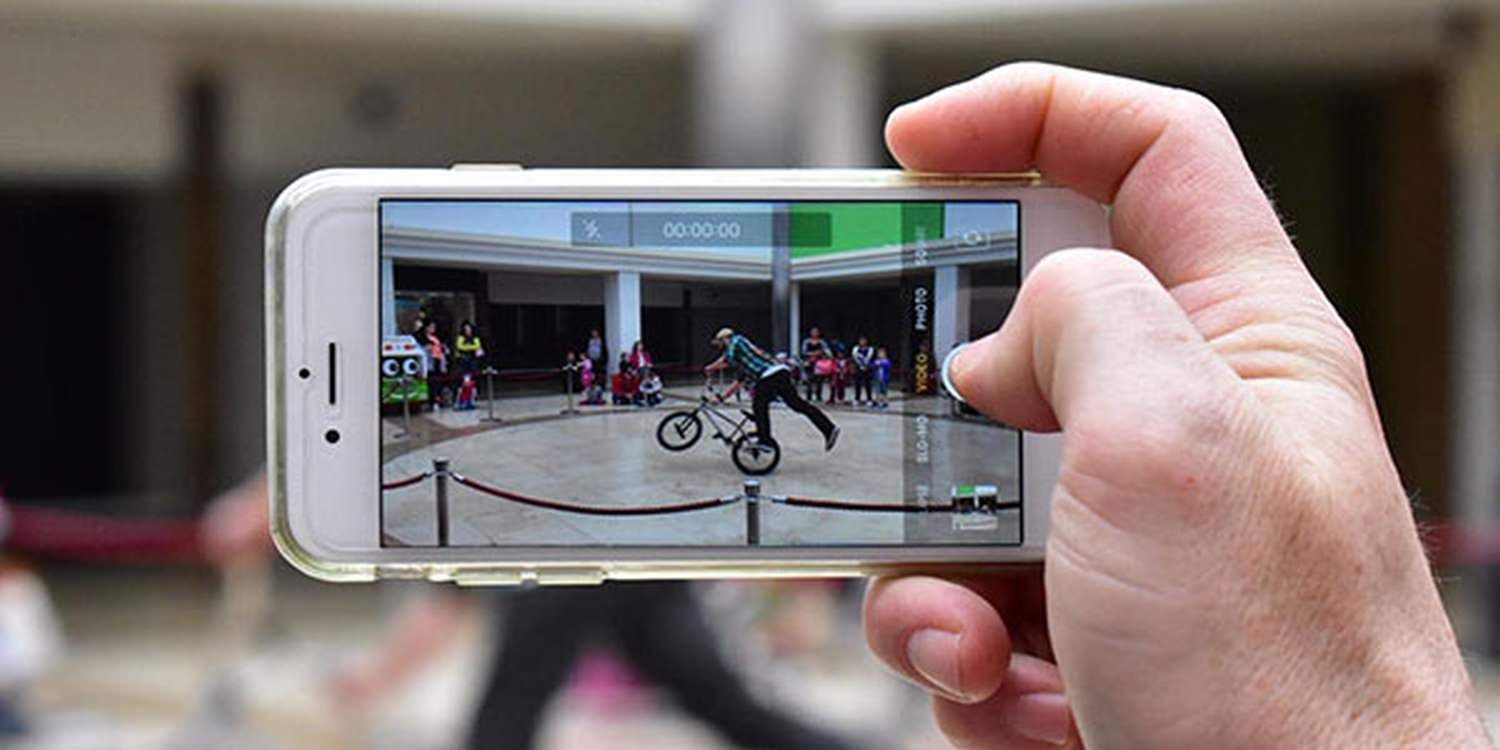 BMX Rider Pushes Boundaries In Shopping Centre
