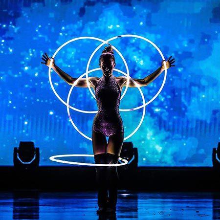 Mohamed Jtaoue & Sean RaeVon - Circus Performers