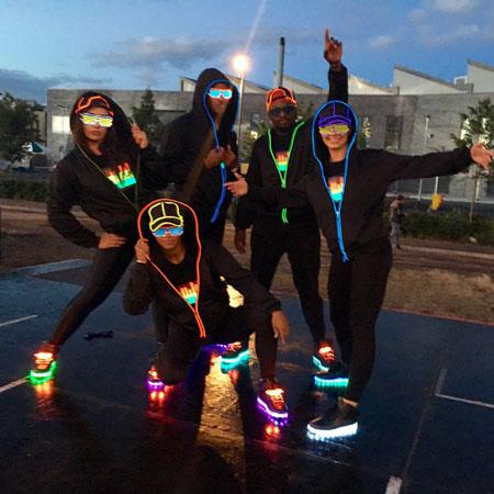 LED Flashmob's (Dance Mob)