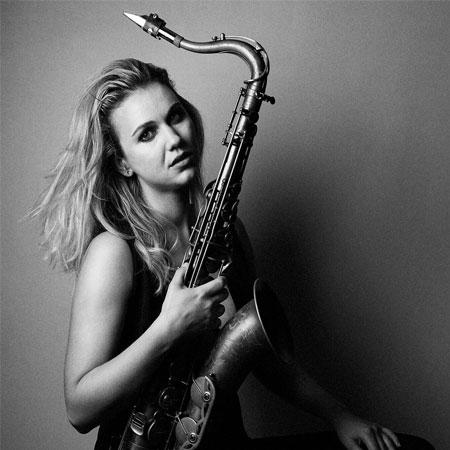 Julia Harrison - Sax Player