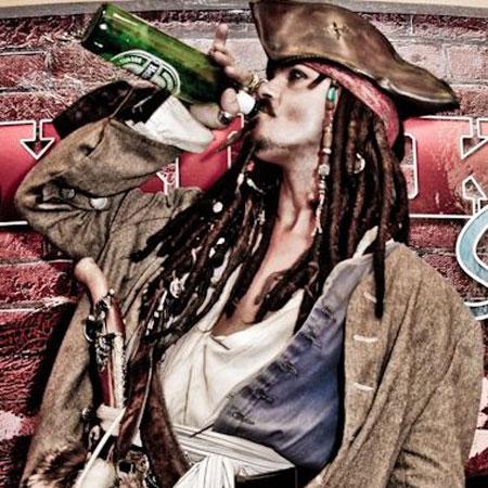 Johnny Depp Impersonator - Las Vegas