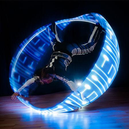 Dreamtech - LED Cyr Wheel act