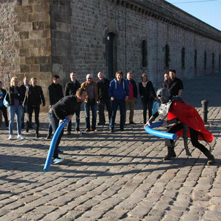 Corporactivity - Montjuïc Castle Challenge