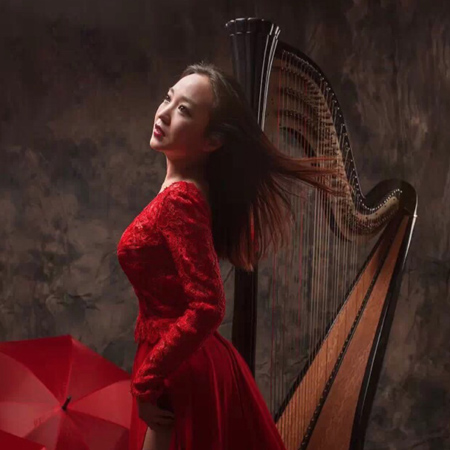 耿丹宇 Gengdanyu - Harpist Beijing