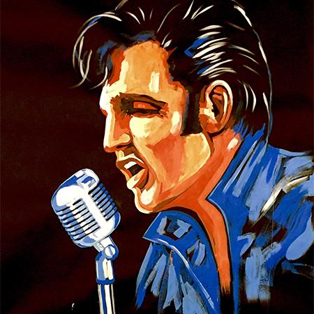 Elvis Artist Steve Connolly - Elvis Speed Painter