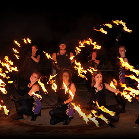 Ugniessokis - Fire Performers