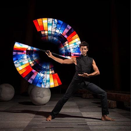 Fusion Arts - Light Dance Show