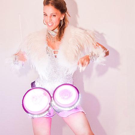 Jaz Hudson - LED Percussionist