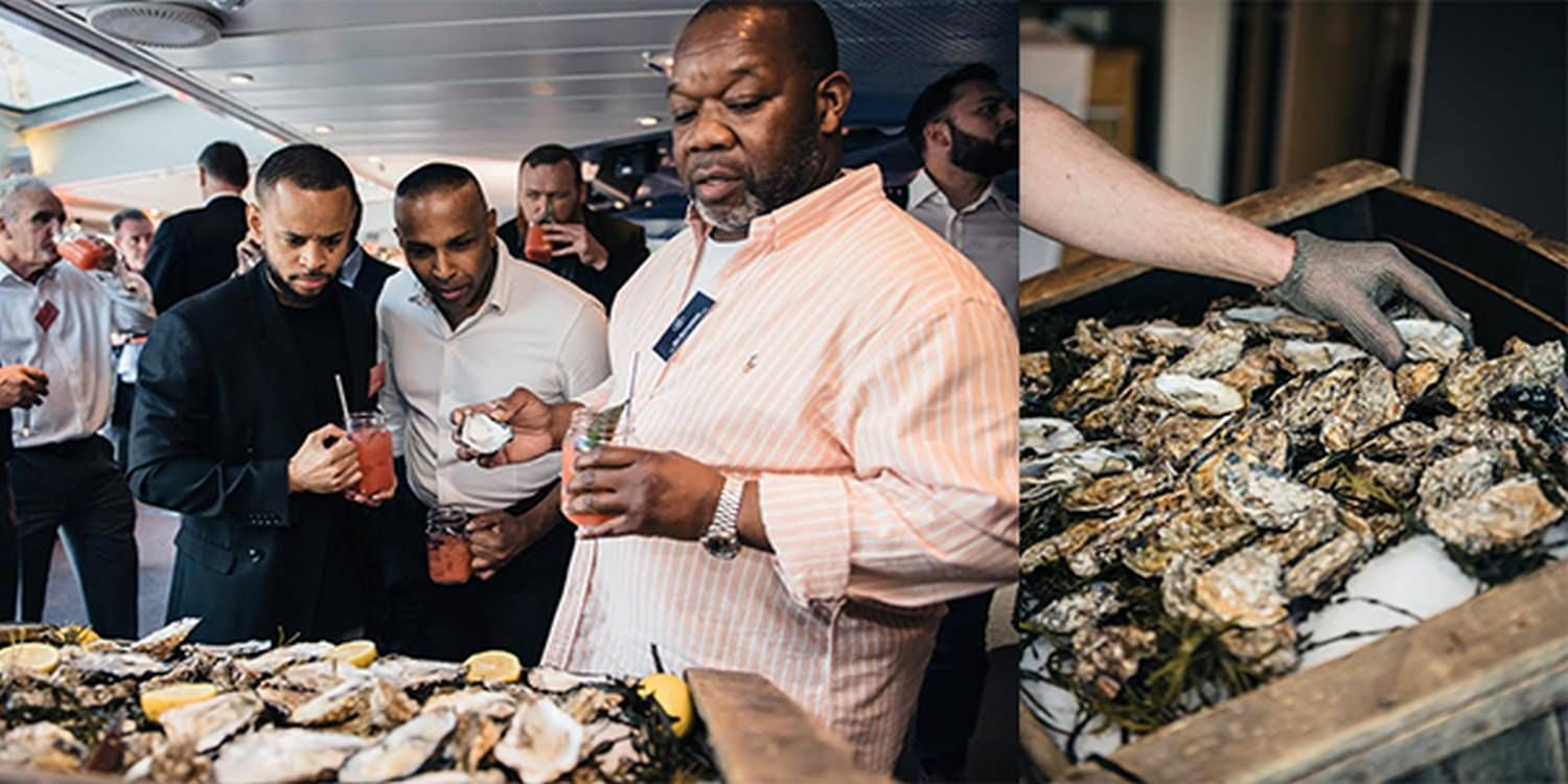 An Evening Of Marine Delights For A Staff Summer Party At Victoria Embankment In London