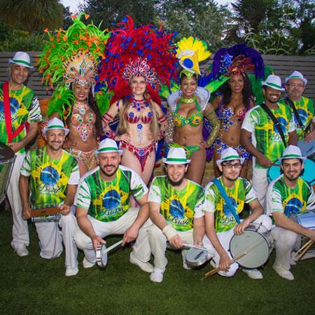 Taste of Brazil - Brazilian Samba & Drummers Dance Group UK