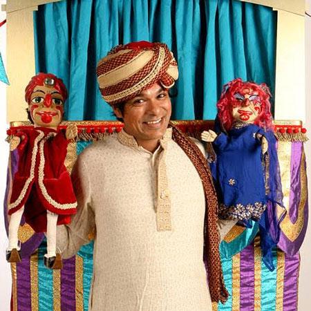 Professor Patel's Punch & Judy Show - Bollywood