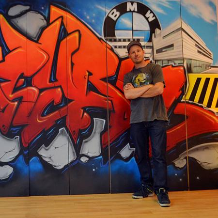 Kesh Graffiti Sprayer