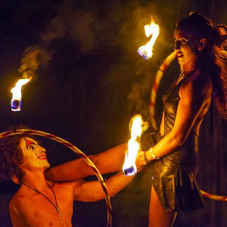 The Fiery Pixies - Fire Hoop